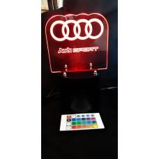 3d lamps Audi