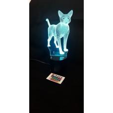 3d lamps cat