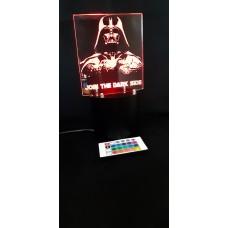 3d lamps Darth Vader